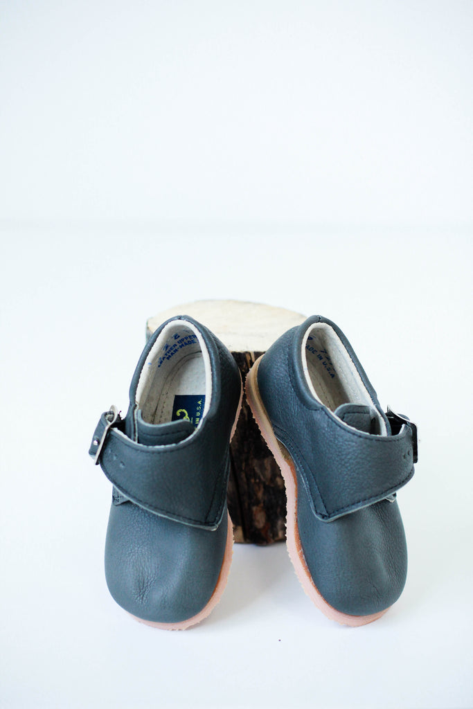 Grey Loafers for Kids | ROOLEE Kids