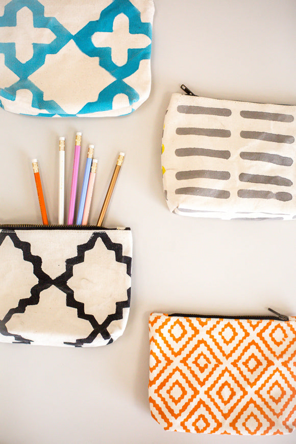 Unique Print Pencil Pouch | ROOLEE