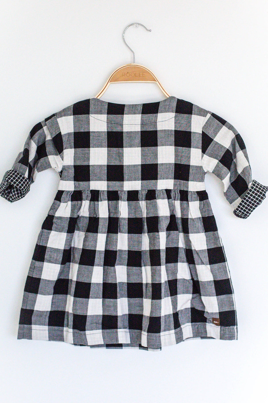 Cute And Comfy Plaid Dress For Babies | ROOLEE Kids