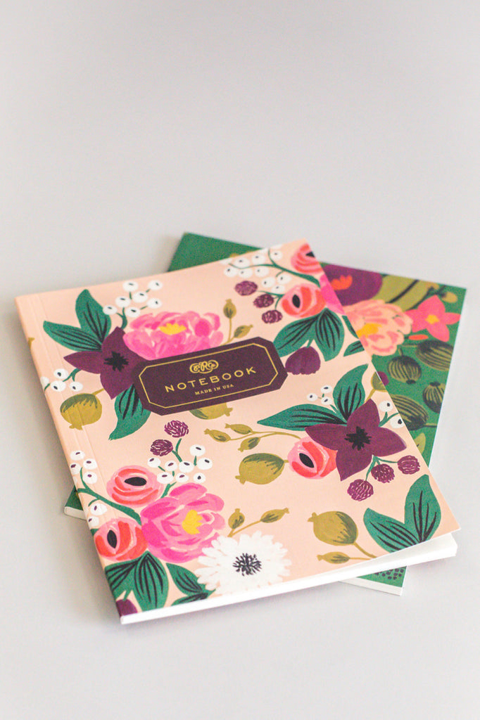 Vintage Blossom Notebook Set | ROOLEE
