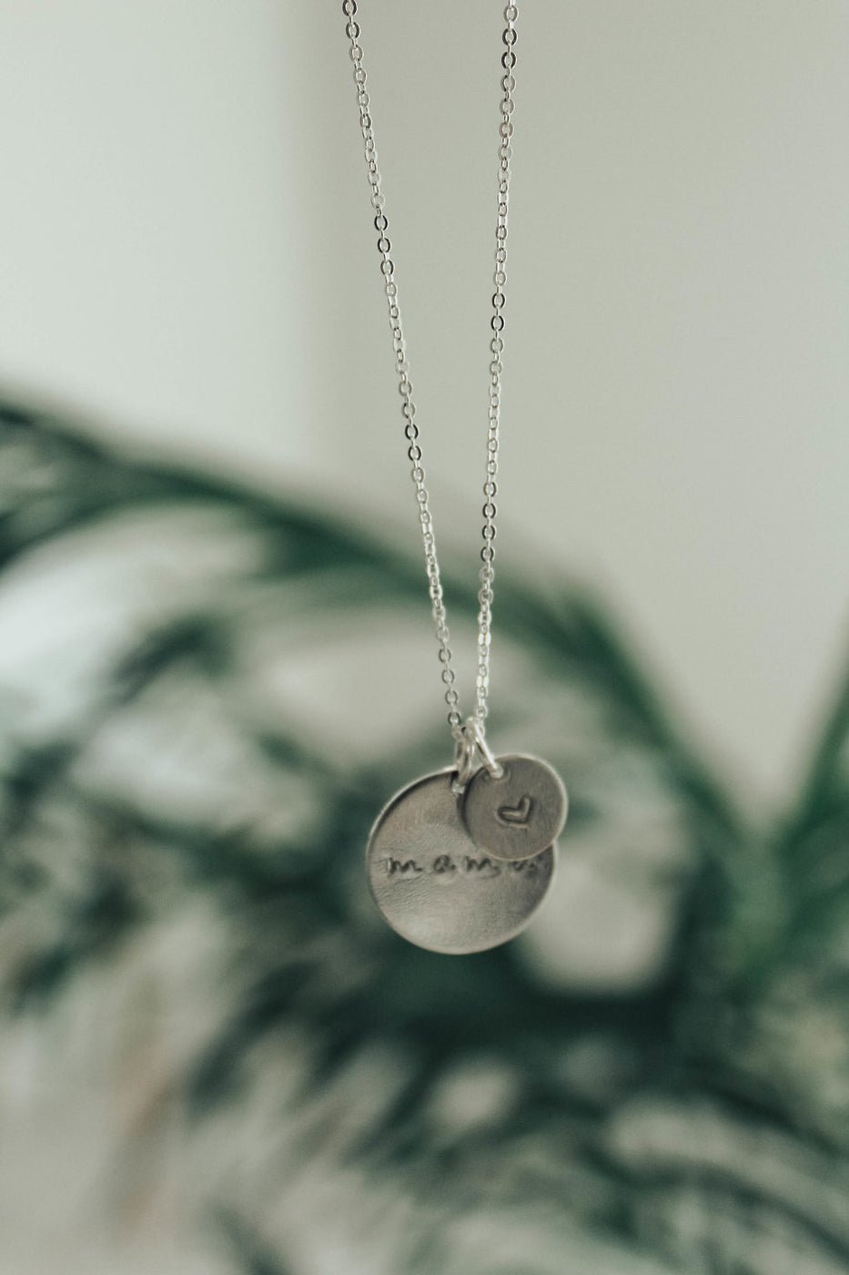 Made by Mary Silver Mama Heart Disc Duo | ROOLEE