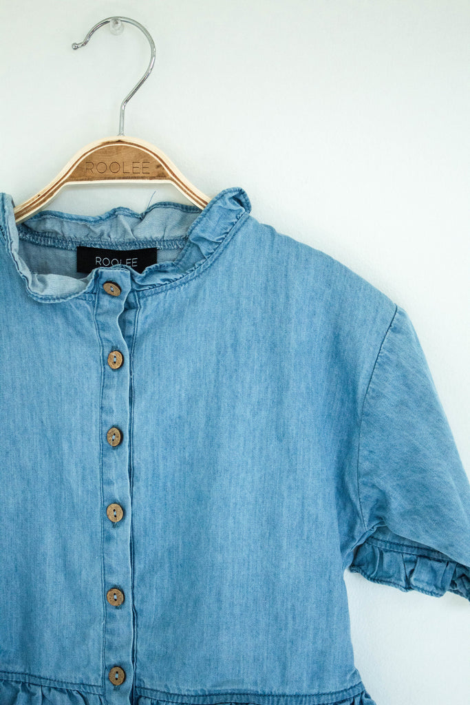 Sheridan Denim Button Up