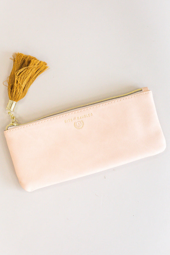 Cute Faux Leather Pencil Pouch | ROOLEE