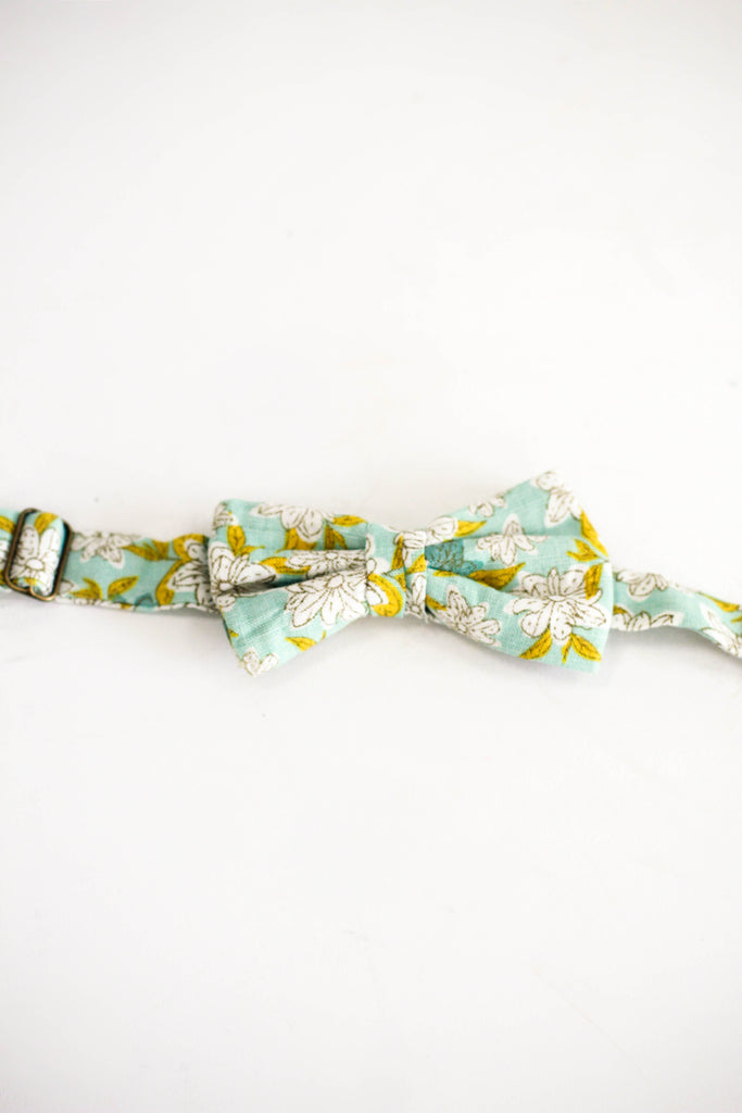 Floral Adjustable Bow Tie | ROOLEE Kids