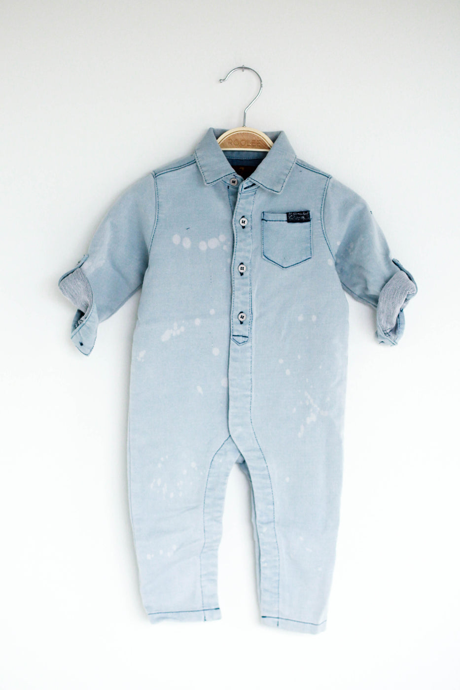 Louis Denim Coverall
