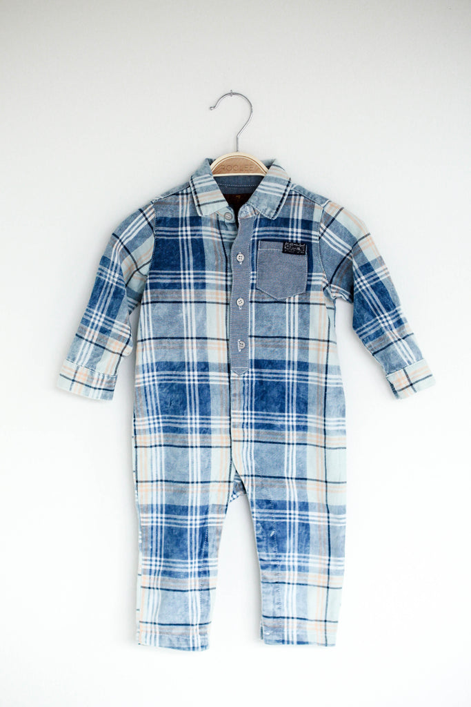 Jacob Plaid Coverall