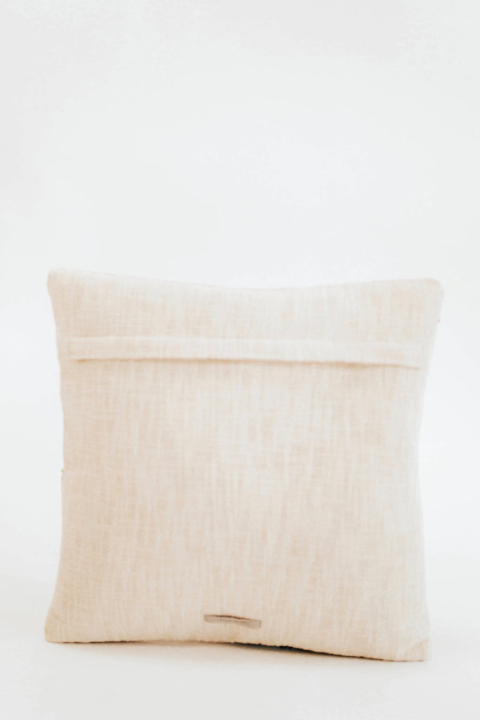 Cream Woven Pillow | ROOLEE