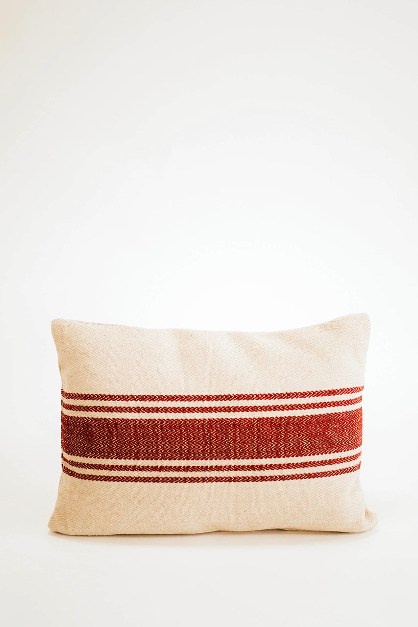 Pennsylvania Throw Pillow in Red | ROOLEE