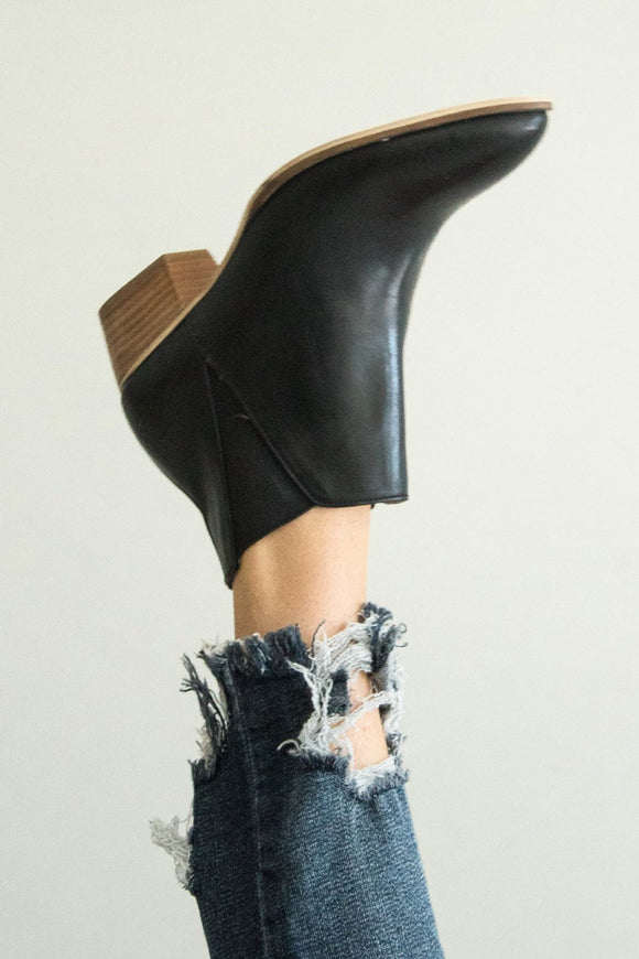 Black Ankle Boot For Women | ROOLEE