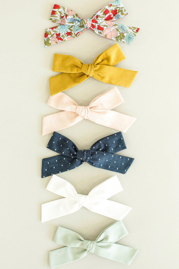 Oversized Bow With Clip For Girls | ROOLEE Kids