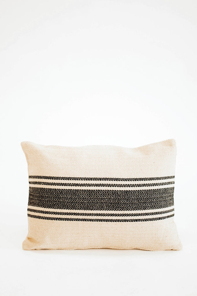 Pennsylvania Throw Pillow in Black | ROOLEE