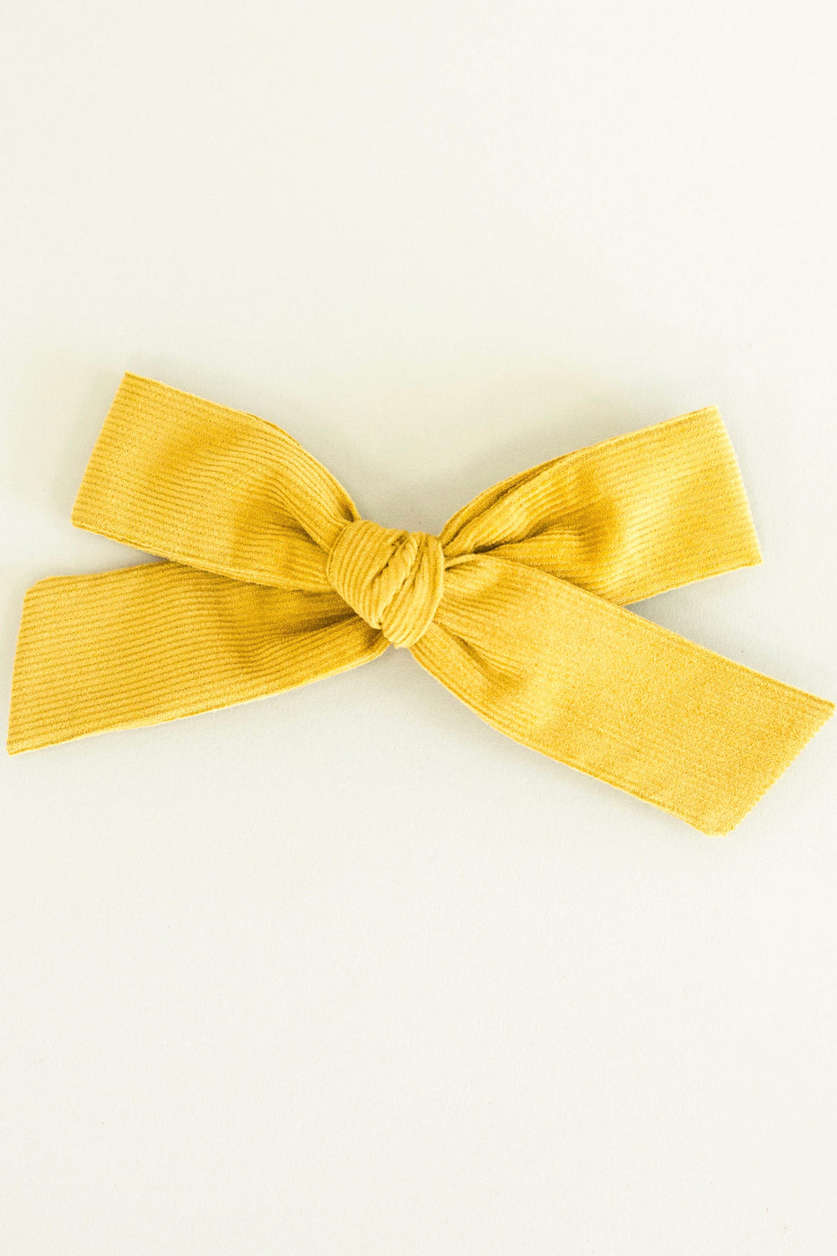 Corduroy Oversized Hair Bow For Baby Girls | ROOLEE Kids