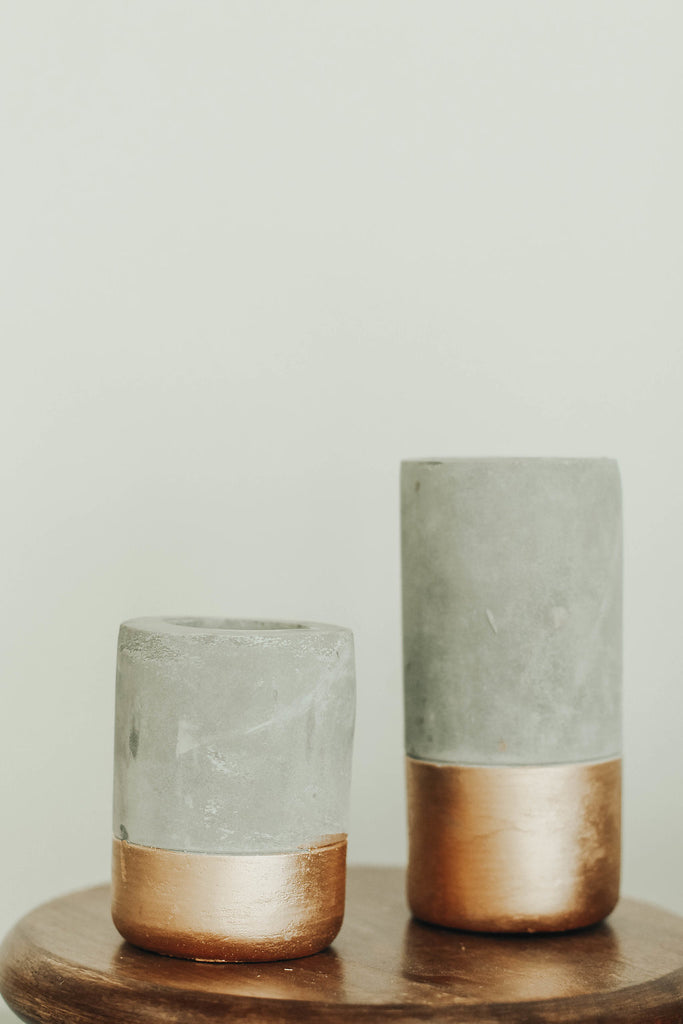 Concrete Candle Holder | ROOLEE