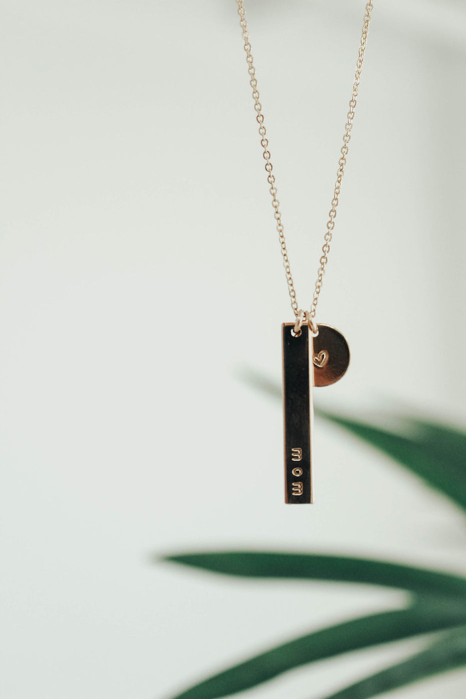 Mom + Co Necklace In Gold | ROOLEE