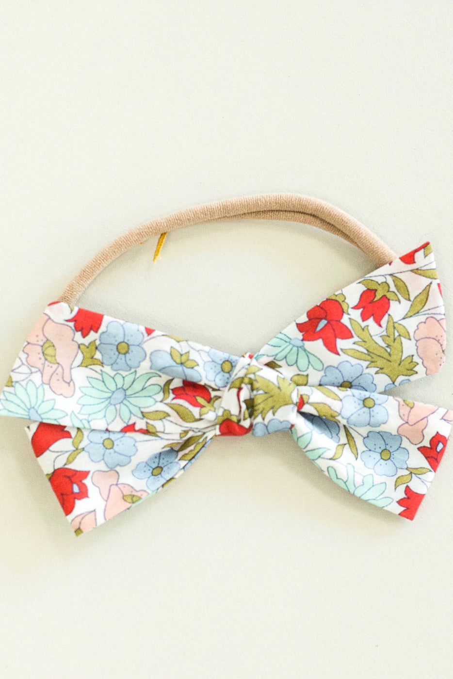 Bright Floral Bow For Girls | ROOLEE Kids