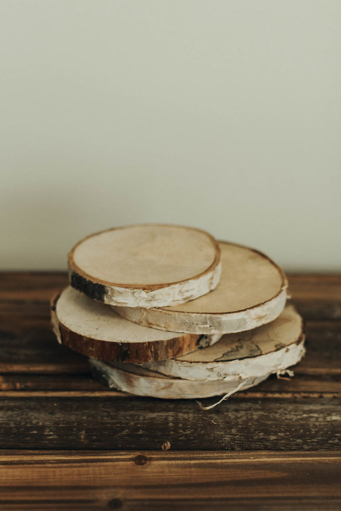 Birch Wood Slices | ROOLEE