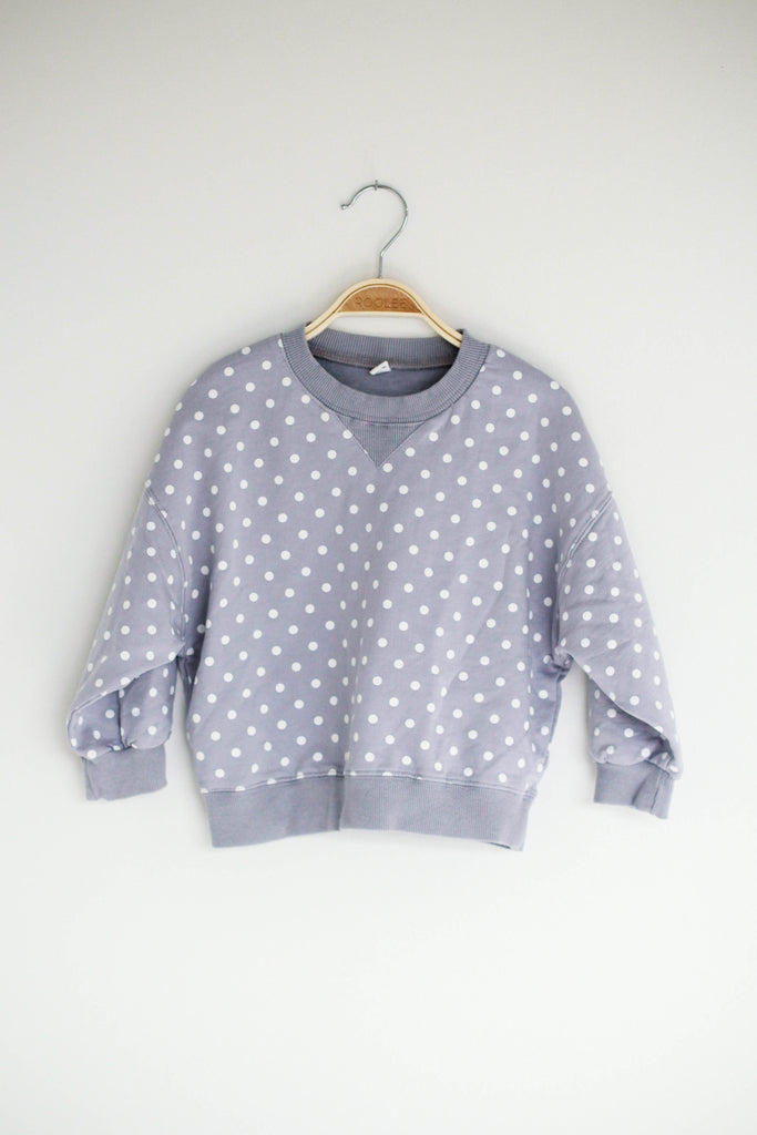 Brielle Polka Dot Pullover