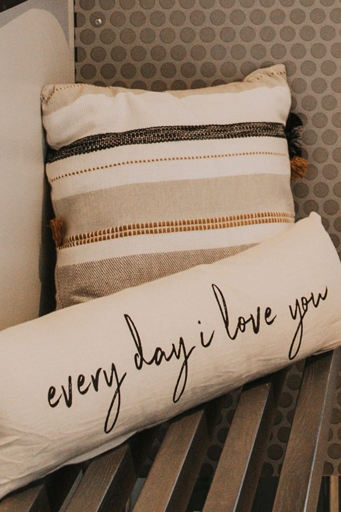 Everyday I Love You Pillow | ROOLEE