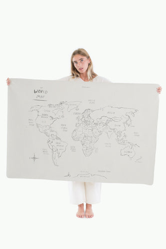 Gathre World Map Mini+ Play Mat
