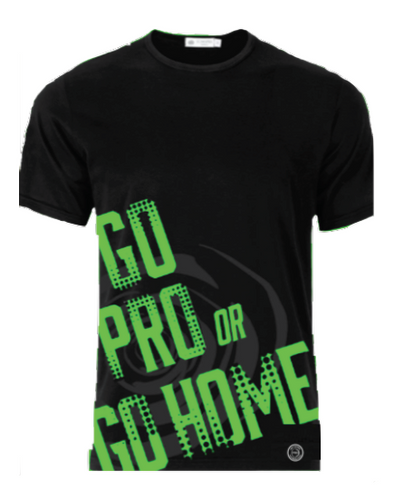 Go Pro or Go Home Kids Tee