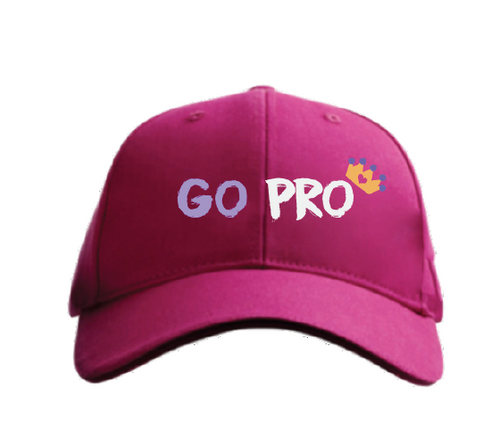 Kids Go Pro Pink Hat for Girls