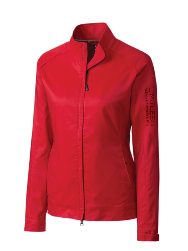 Limitless Weather Tech Red Jacket