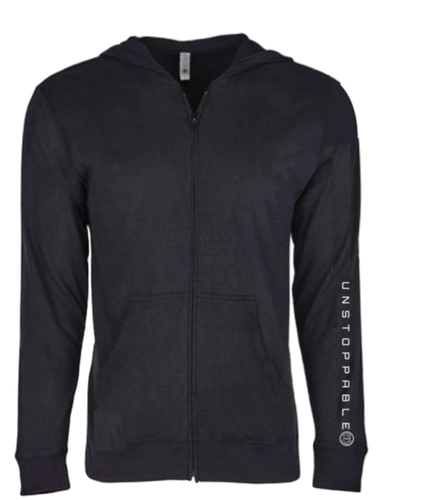 Unstoppable Sueded Hooded Zip