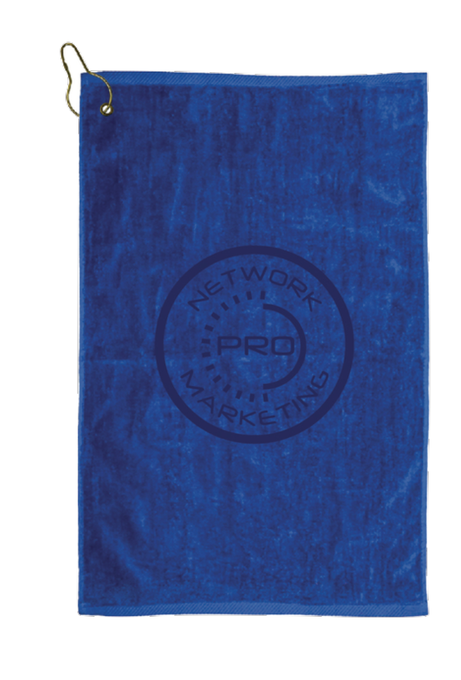 Network Marketing Pro Golf Towel