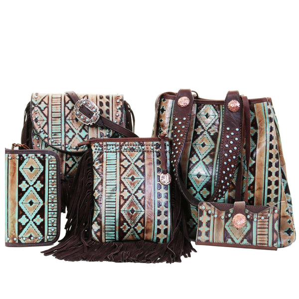 Navajo Turquoise And Brown