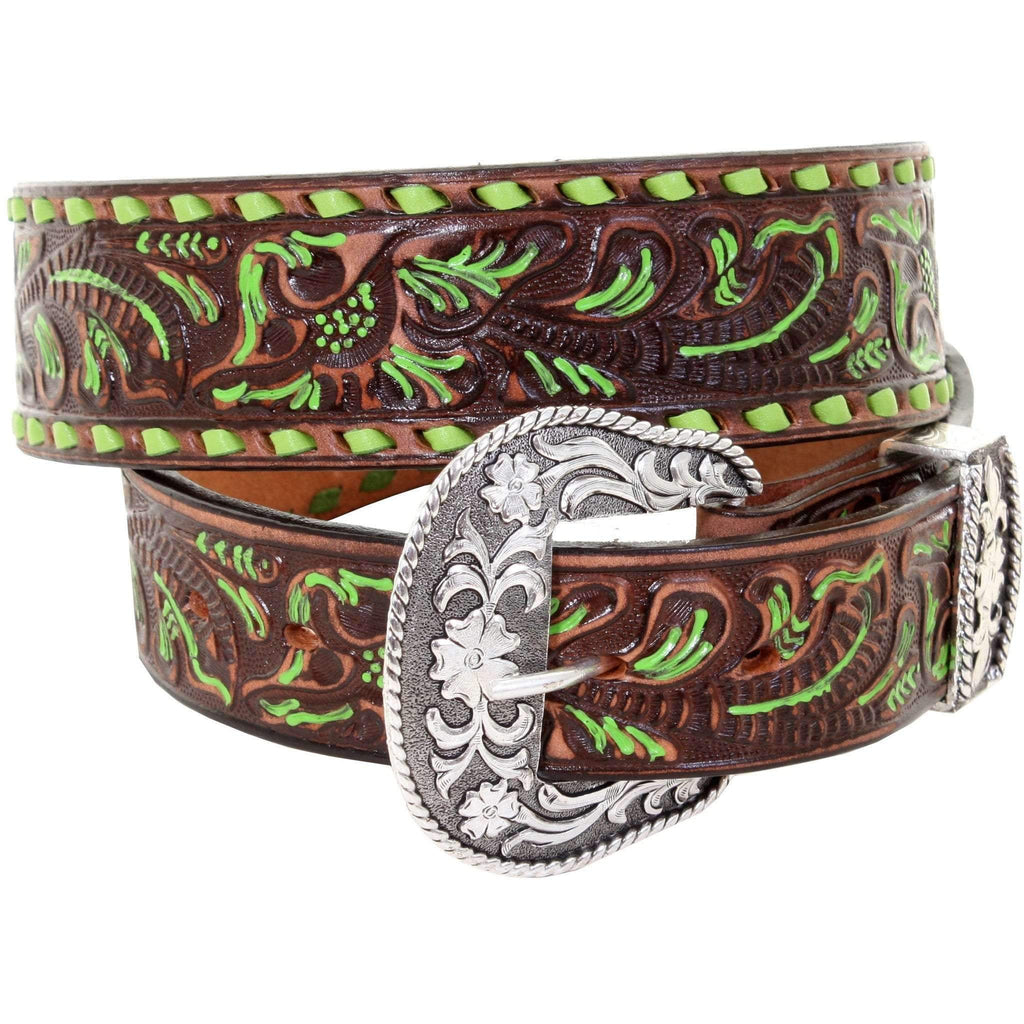 B934 - Brown Vintage Belt Belt