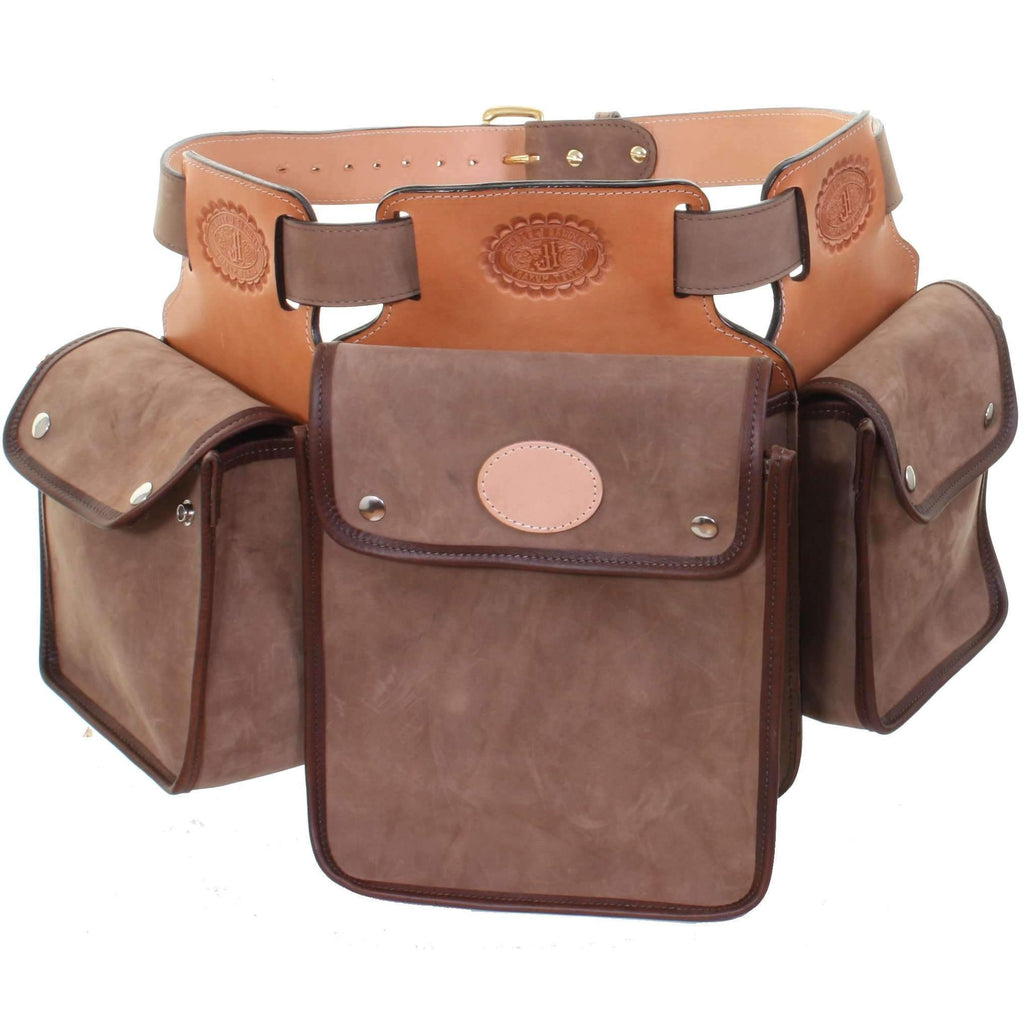BB35 - Oil Tan Leather Bird Bag