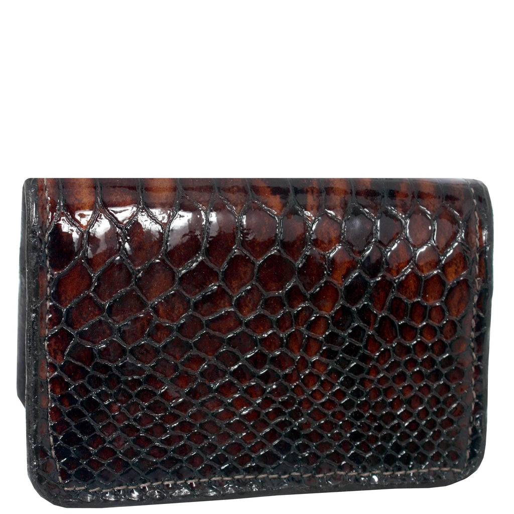 Bus20 - Brown Snake Business Card Holder Accessories