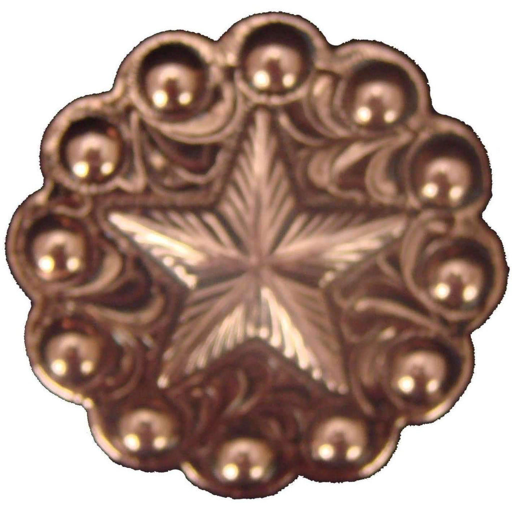 C640 - Copper Berry Star Concho Concho