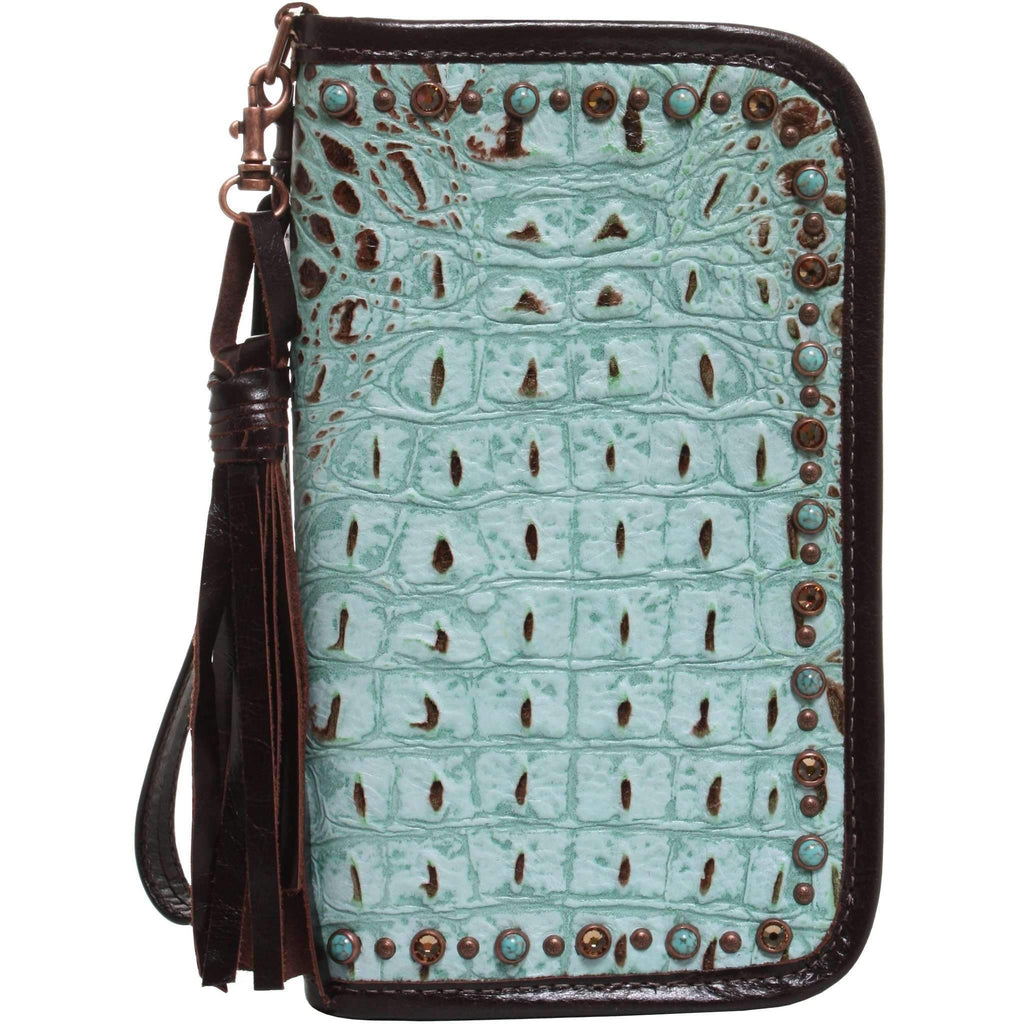 CO140 - Mint Chocolate Chip Clutch Organizer