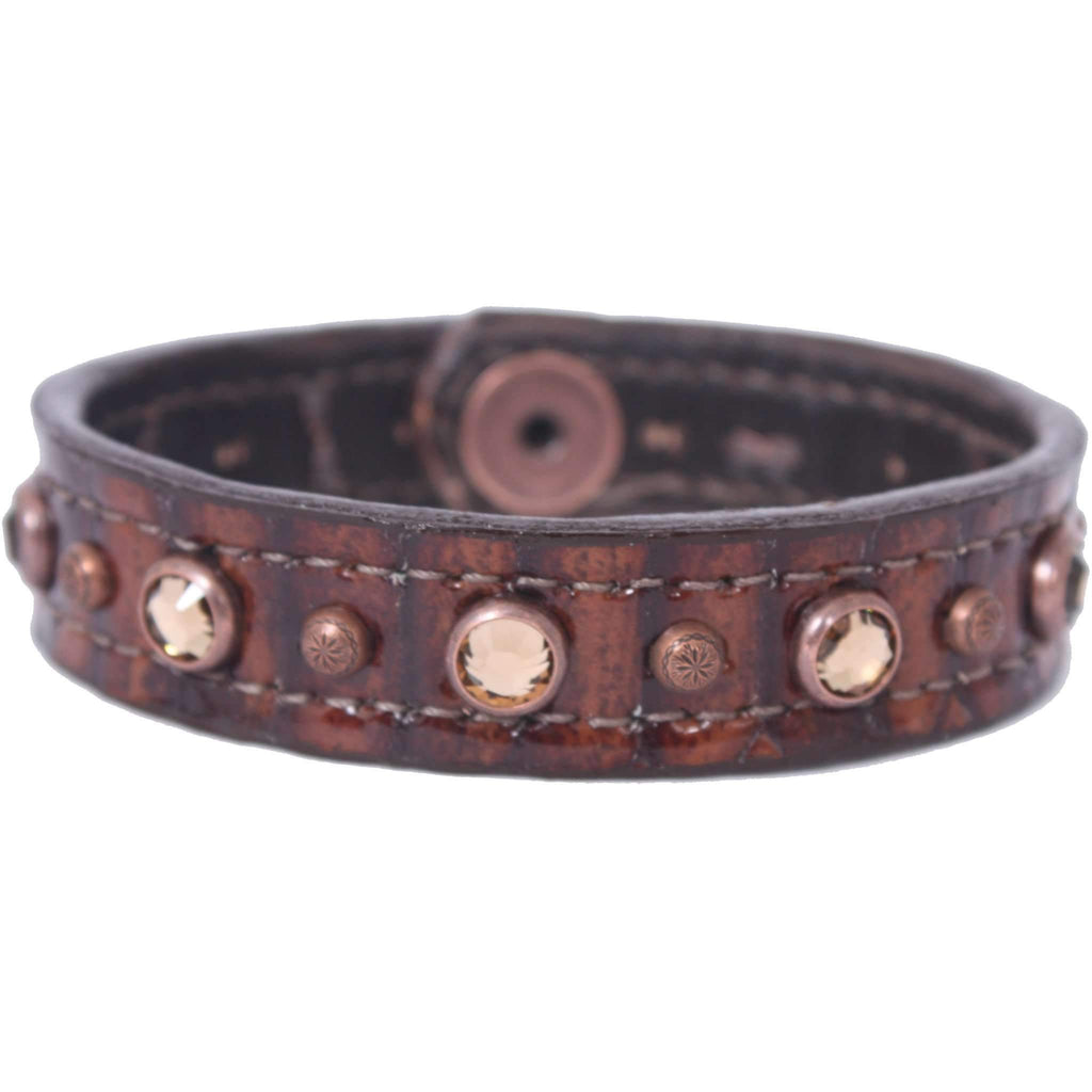 CUF3/401 - 3/4'' Brown Snake Cuff