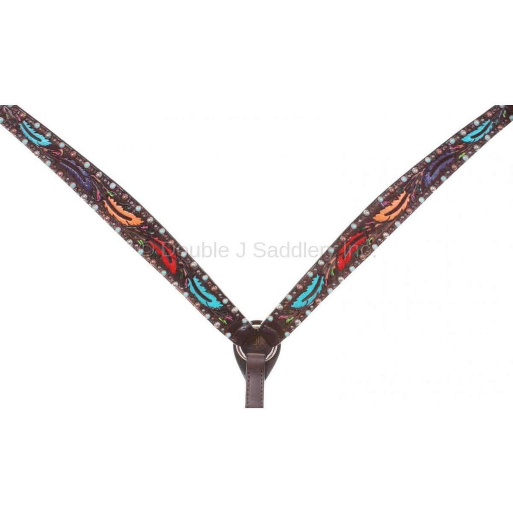 Bc779 - Brown Vintage Breast Collar Tack