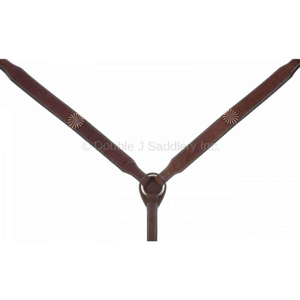 Brown Rough Out Breast Collar