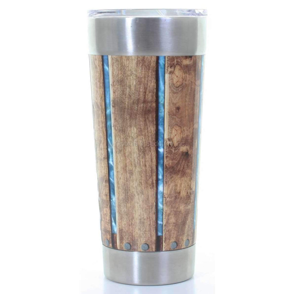 Wooden Fence Wrapped FRIO ® CUP