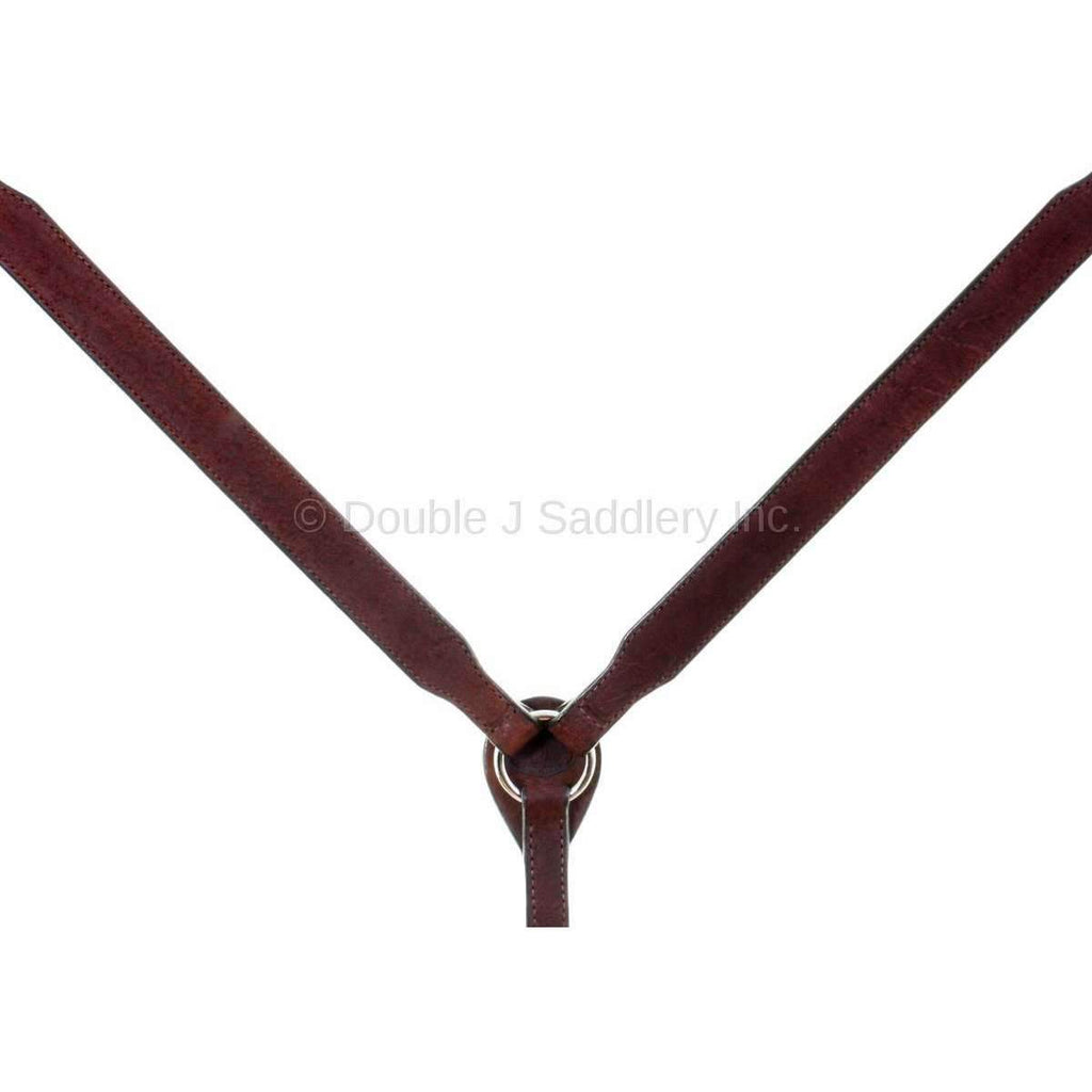 Bc881 - Brown Rough Out Breast Collar Tack