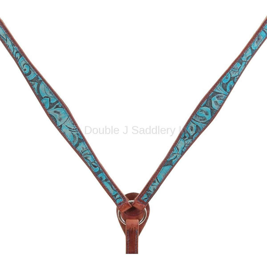 Eagle Antique Turquoise Overlay Breast Collar