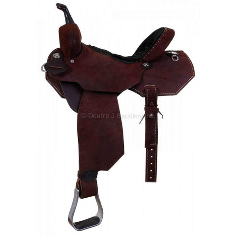 Sprf00 - 58879 Double J Pro Flex Barrel Racer Saddle
