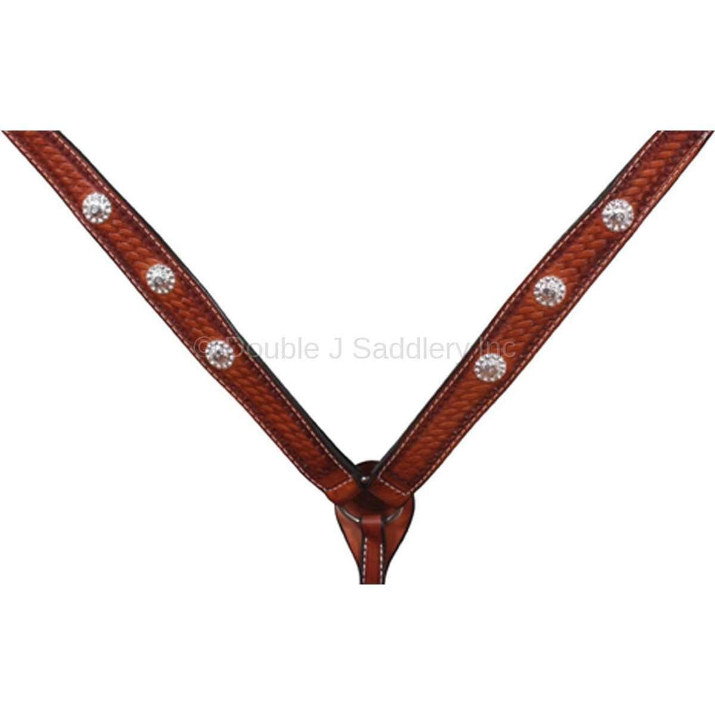 Bc096 - Hand-Tooled Breast Collar Tack