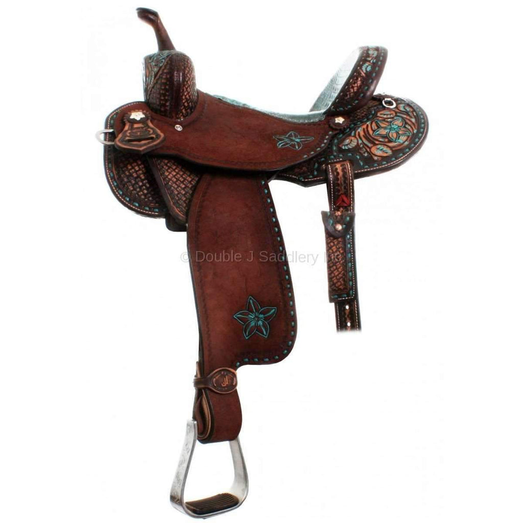 Double J Pro Barrel Racer. MATCHING TACK 104B AND BC275B AVAILABLE