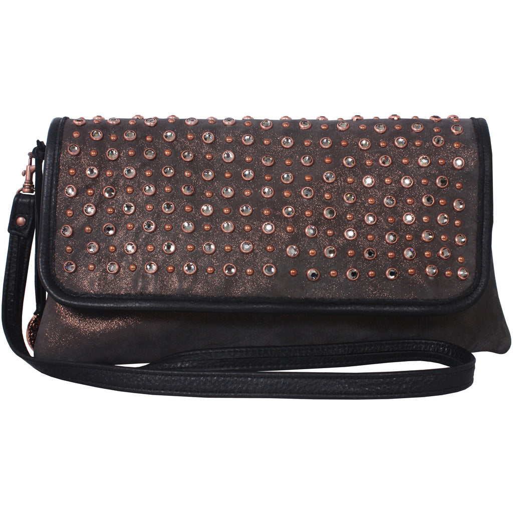 CLEARANCE - Grand Prairie and Crystal Simple Clutch - SC28