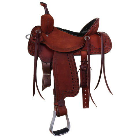 Spr395 - Double J Pro Barrel Racer Saddle