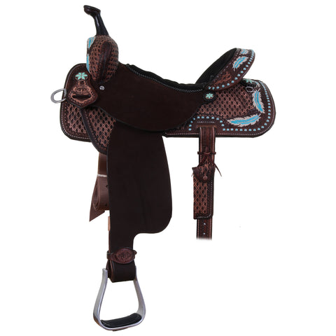 Spr00 - 74857 Double J Pro Barrel Racer Saddle