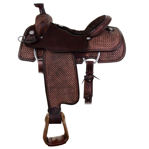 Str00 - 71179 Double J Team Roper Saddle