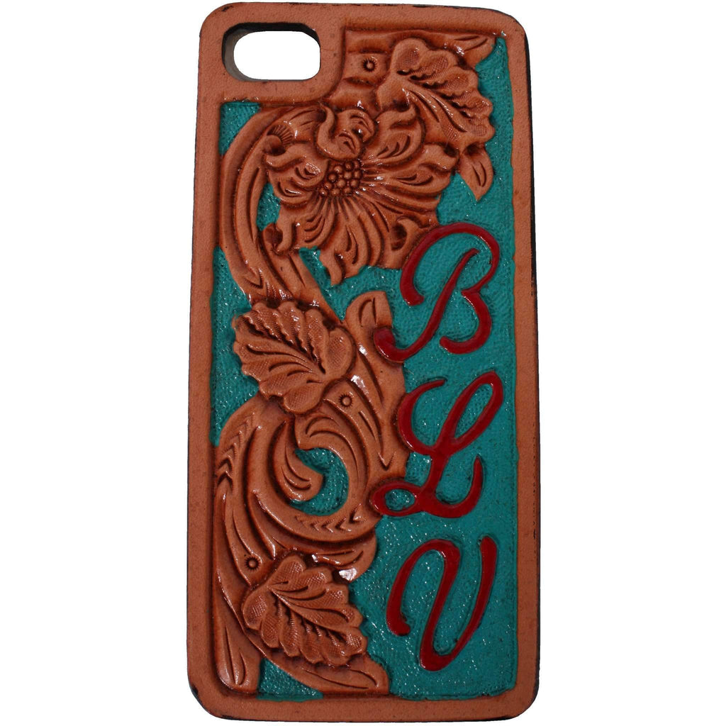 HPC19A - Natural Floral iPhone Case - Double J Saddlery