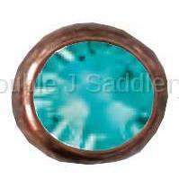 Light Turquoise Swarovski Crystal - ABCSS26-34 - Double J Saddlery