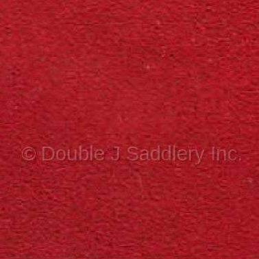 Red Suede Leather - SLSUR - Double J Saddlery